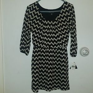 Black and Ivory dress